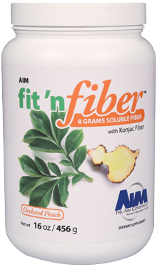 AIM Fit 'n Fiber Soluble Fiber with Konjac Fiber