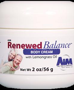AIM Renewed Balance Body Cream